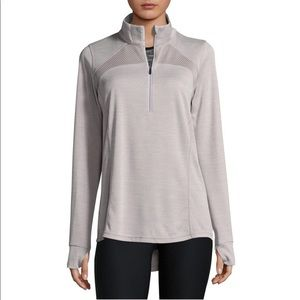 New Xersion Quarter-Zip Athletic Pullover silver